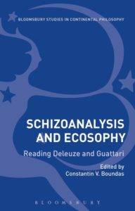Schizoanalysis and Ecosophy : reading Deleuze and Guattari