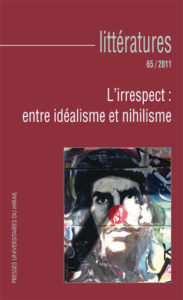 Le théâtre de Félix Guattari en position d'irrespect face à sa philosophie ?